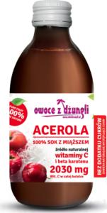 Acerola sok z miąższem