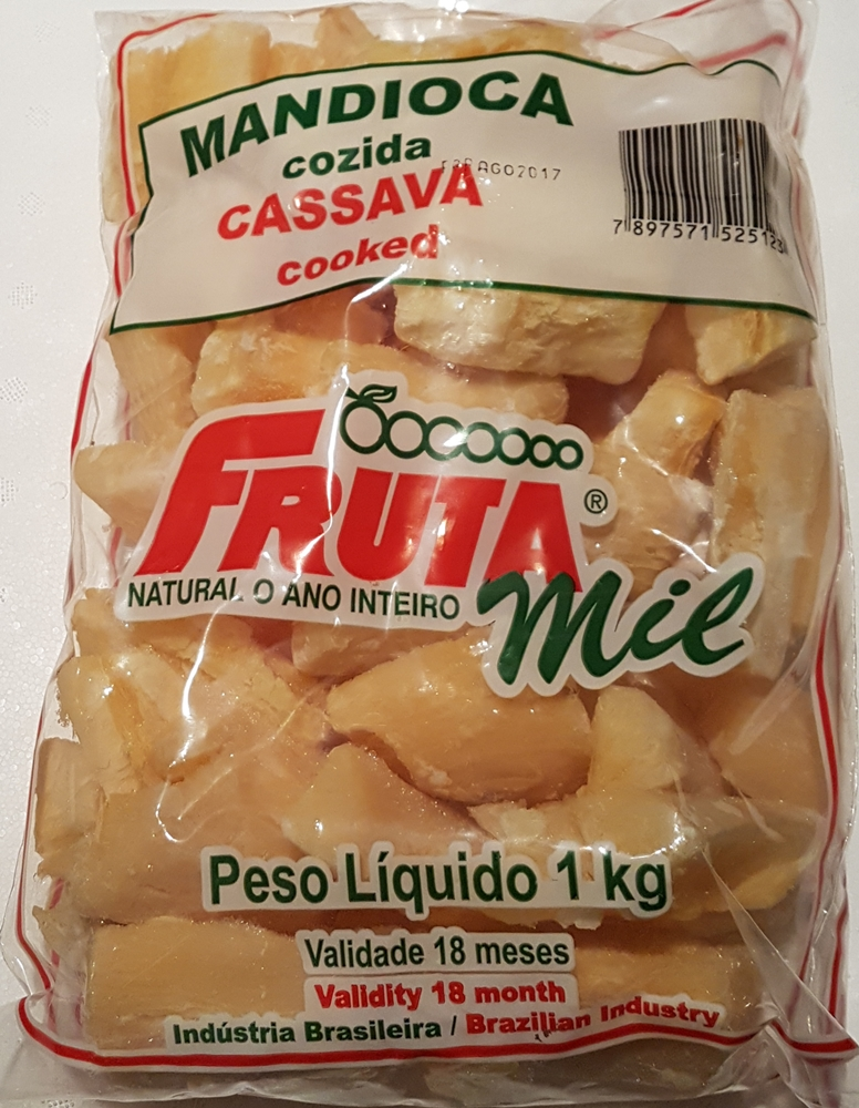Cassava - mrożone frytki z manioku
